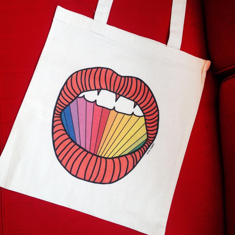 Tote Bag Rainbow