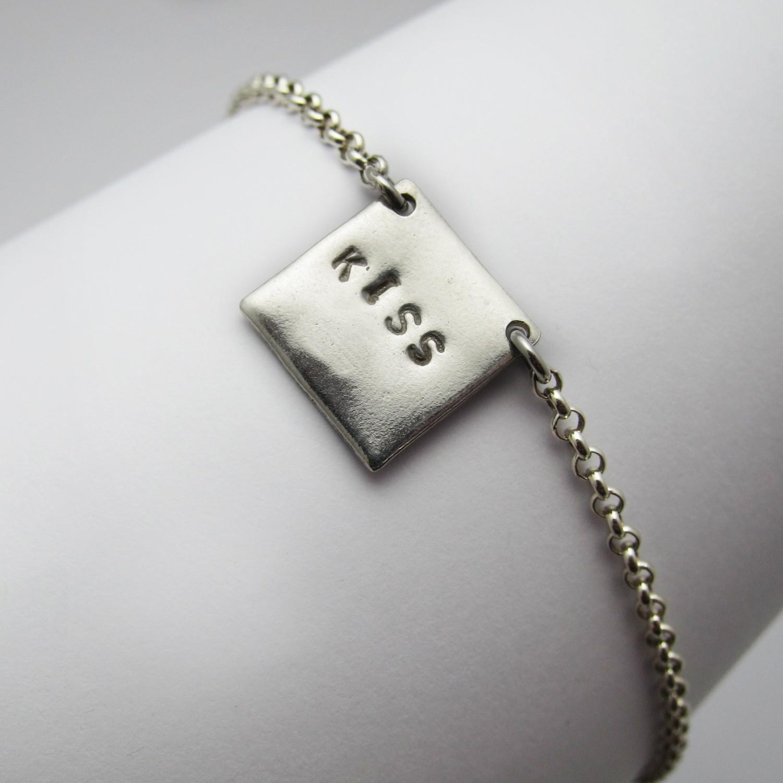 Bracelet Kiss - Argent