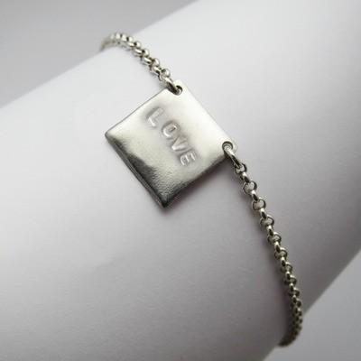 Bracelet Love - Argent