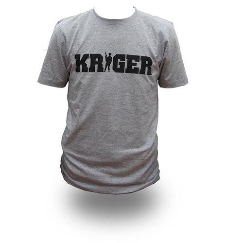 KRIGER, T-shirt - *XXL* TILBUD !