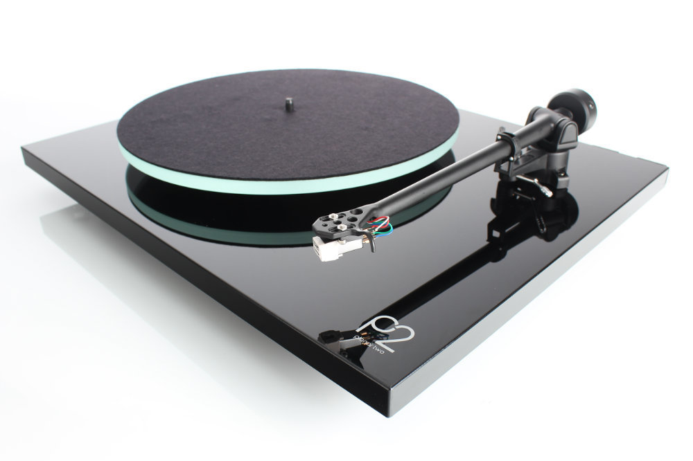 Rega P2 Planar Turntable (Black, White or Red Gloss)