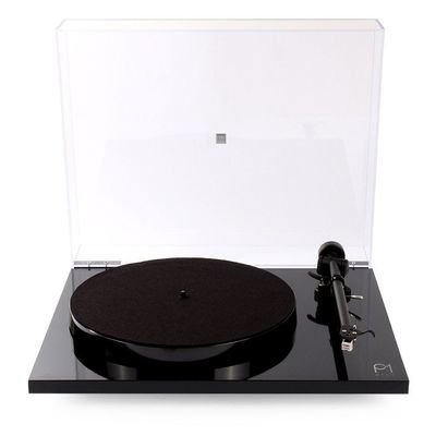 Rega Planar 1 Plus Turntable (Black or White Gloss)