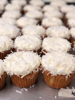 6 Coconut Cupcakes