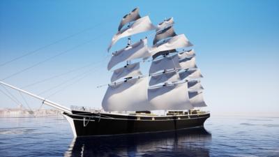 Ships - The Cutty Sark Clipper Ship
