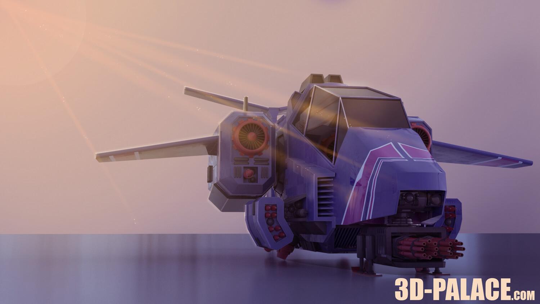 The Stormtalon Warhammer 40k Assault Ship Tutorial for 3d-palace