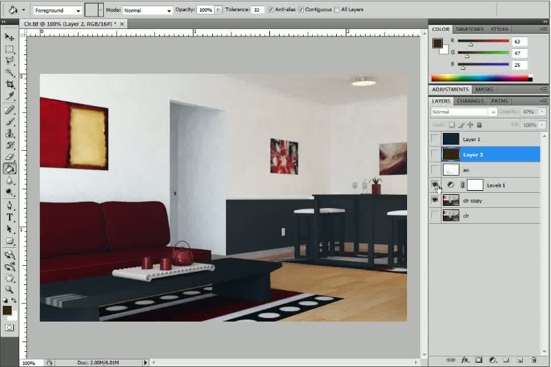 ArchViz 3 - Materials, Lighting and Rendering