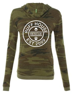 Lightweight Camo Long Sleeve Women's Tees