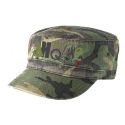 Biowashed Camo Military Hat