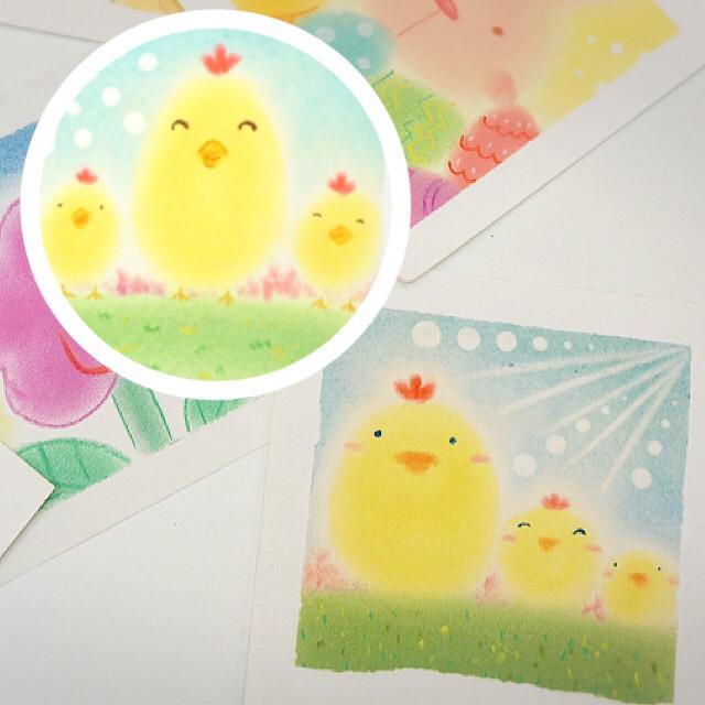 活着如初狂熱集合日-和諧粉彩春日小雞