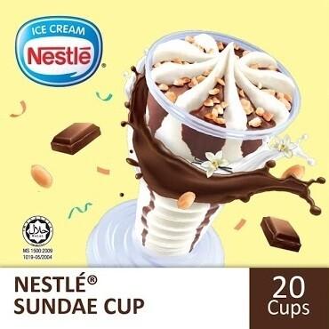 NESTLÉ Sundae Cup (20 cups)