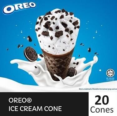 NESTLÉ OREO Cone Ice Cream (20 Cones)