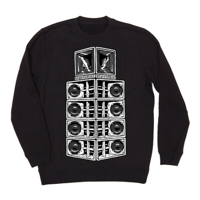 Tall Danley Stack Crew | Black | Preorder