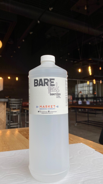 Bare Hands - Hand Sanitizer - 1L Bottle