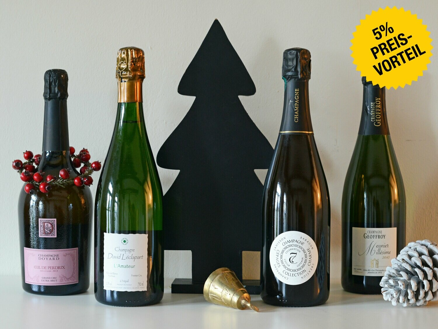 "Champagner-Adventskalender ""Wine Freaks"""