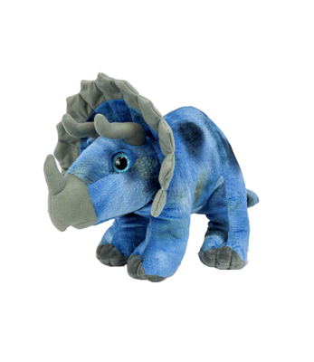 Tops the Triceratops - Build-A-Plush Bundle - 16 inches