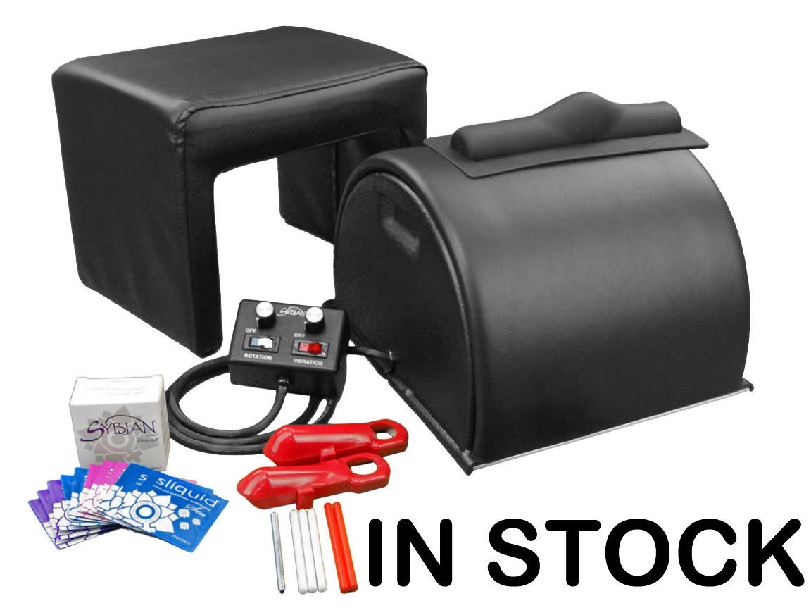 Classic Black Sybian™ Pleasure System