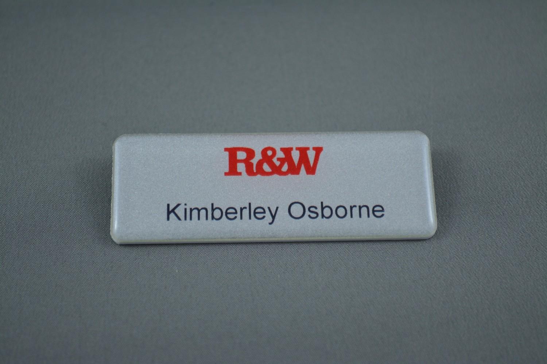 Richardson & Wrench - Corporate Name Badge (Style 1)