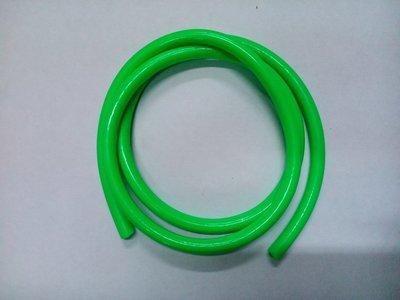 Бензошланг зелёный 5*8 длина 1м.