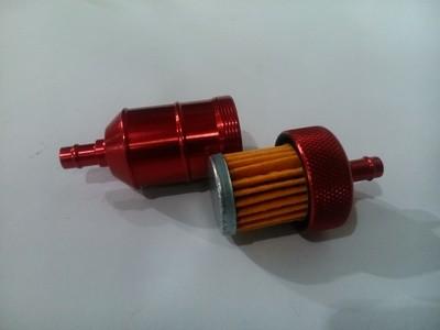Фильтр топливный разборный (красный)