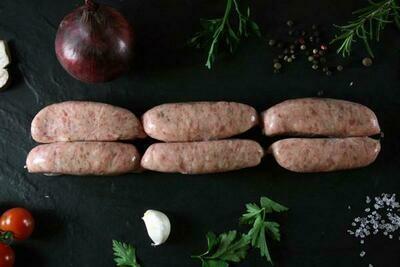 Pork Sage & Red Onion Sausages x 6