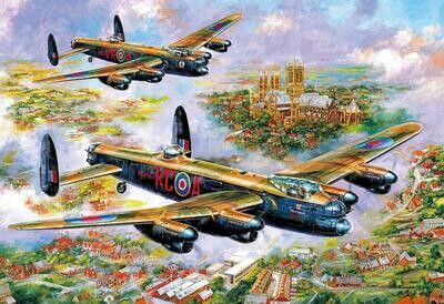 Jigsaw - Lancasters Over Lincoln