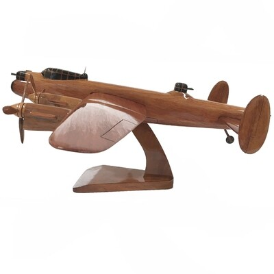 Wooden Aircraft Model - Avro Lancaster