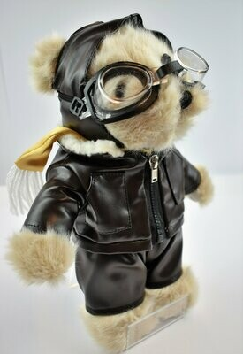 'Bertie the Pilot Bear' Soft Toy