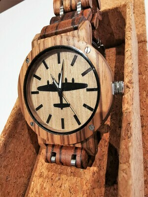 Wooden Watch - Lancaster with Wooden Strap