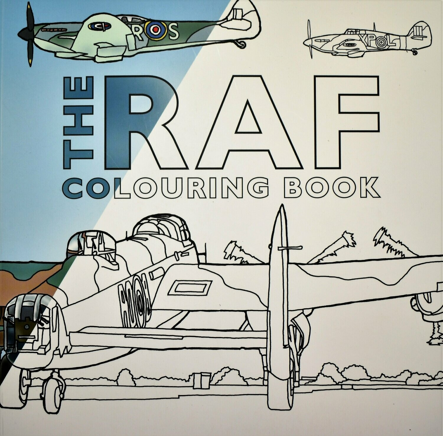 Book - RAF Colouring