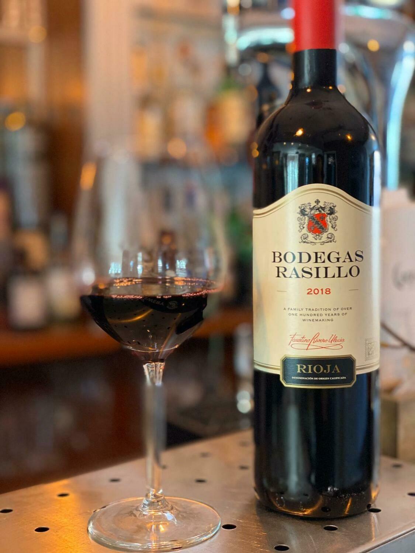 Red Wine - Rioja Bottle