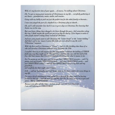 BONUS: Christmas Card inside