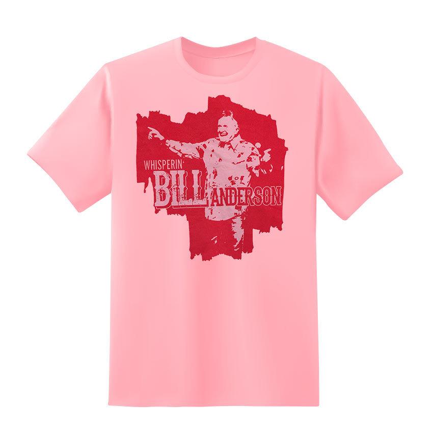 2017 Bill Anderson Tee Pink BATee2017PK