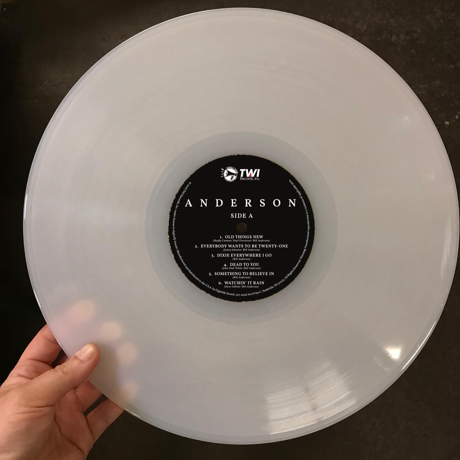 ANDERSON Vinyl LP - PRE-SALE