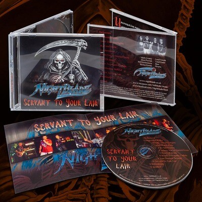 Servant To Your Lair CD
