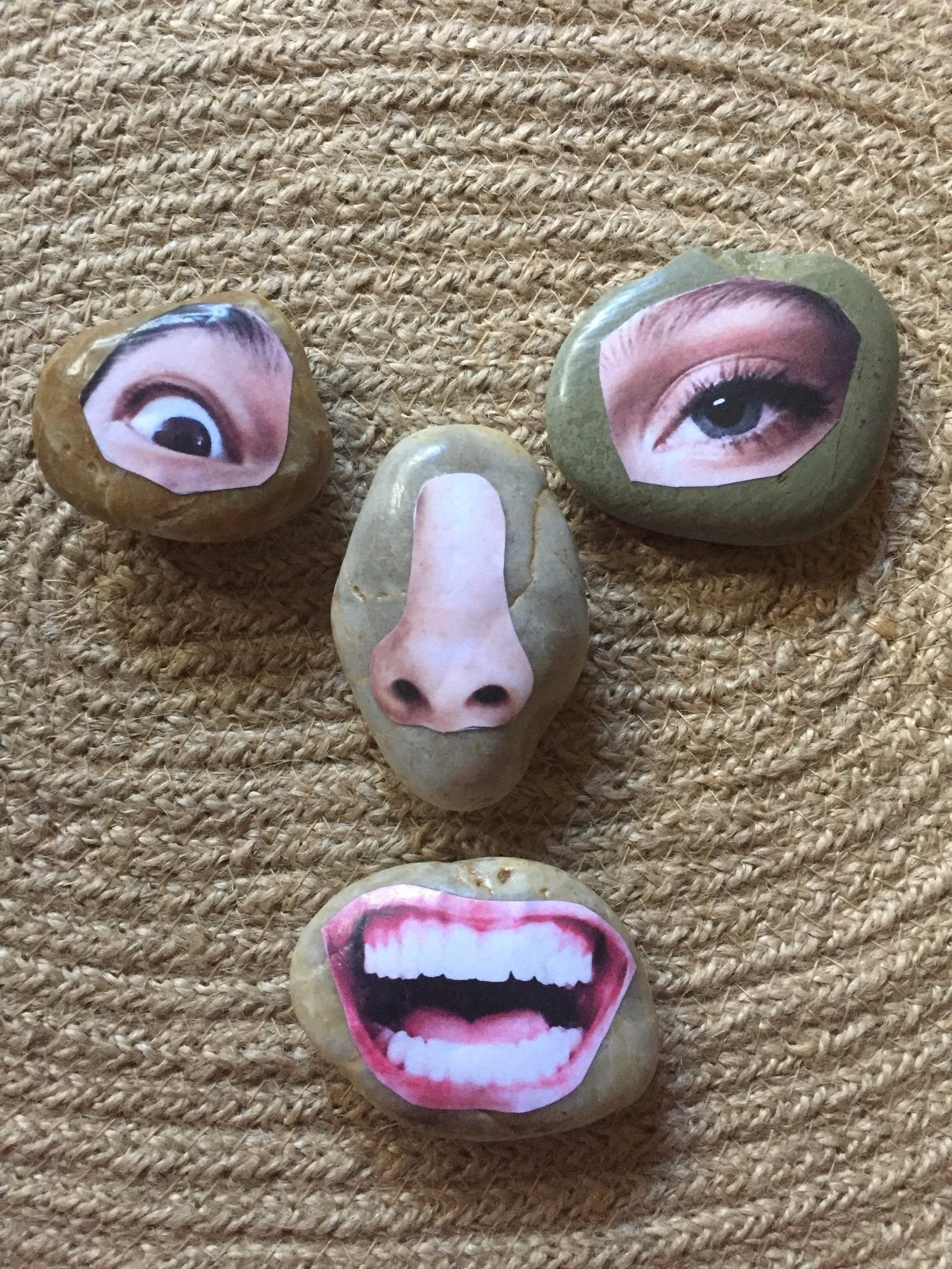 Face Parts to Print