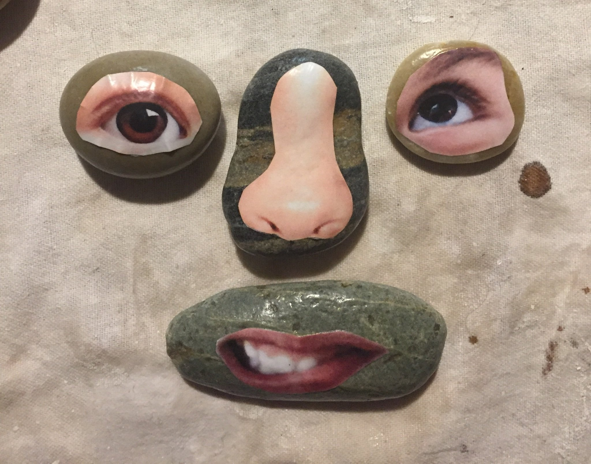 77 Photo Graphics of Face Parts