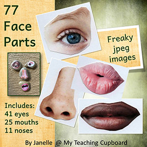 77 Photo Graphics of Face Parts 00071
