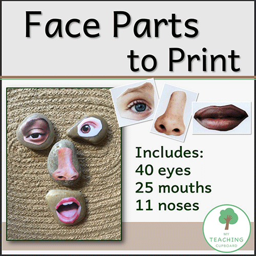 Face Parts to Print 00070