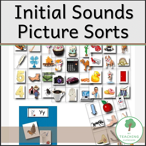 Initial Sounds Picture Sorts 00063