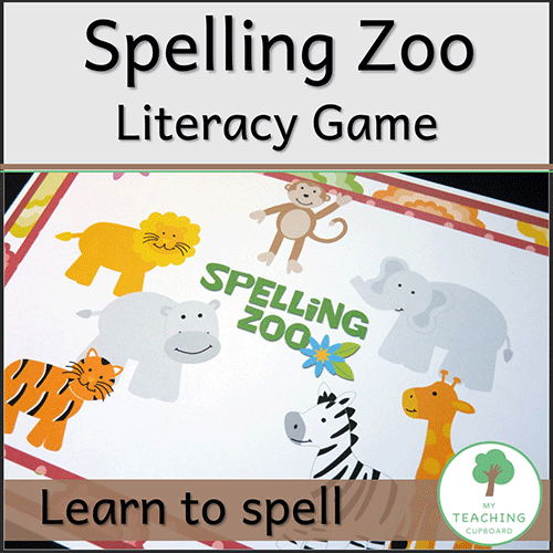 Spelling Zoo Literacy Game 00029