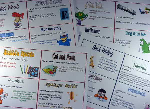 68 Spelling Activity Cards