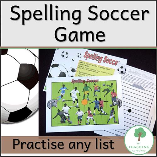 Soccer Spelling Game 00032