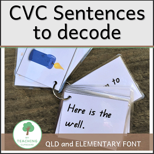 CVC Sentences to Decode 00074