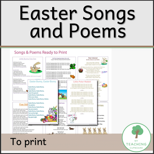 Easter Songs & Poems to Print 00039