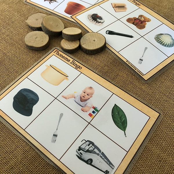 Phoneme Bingo for Teaching Phonemic Awareness