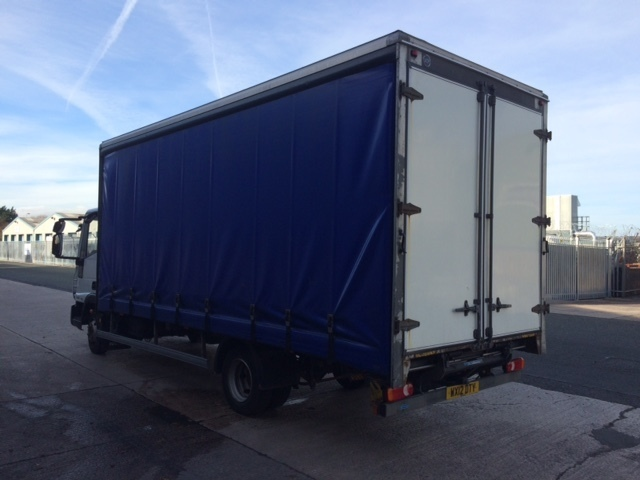 2012/12 Iveco Eurocargo 75E16 20'Curtainsider with taillift