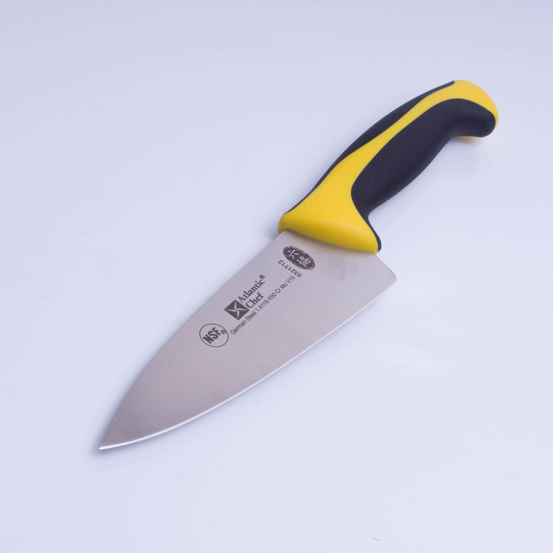 8321T12YELLOW-Нож кухонный поварской  15см