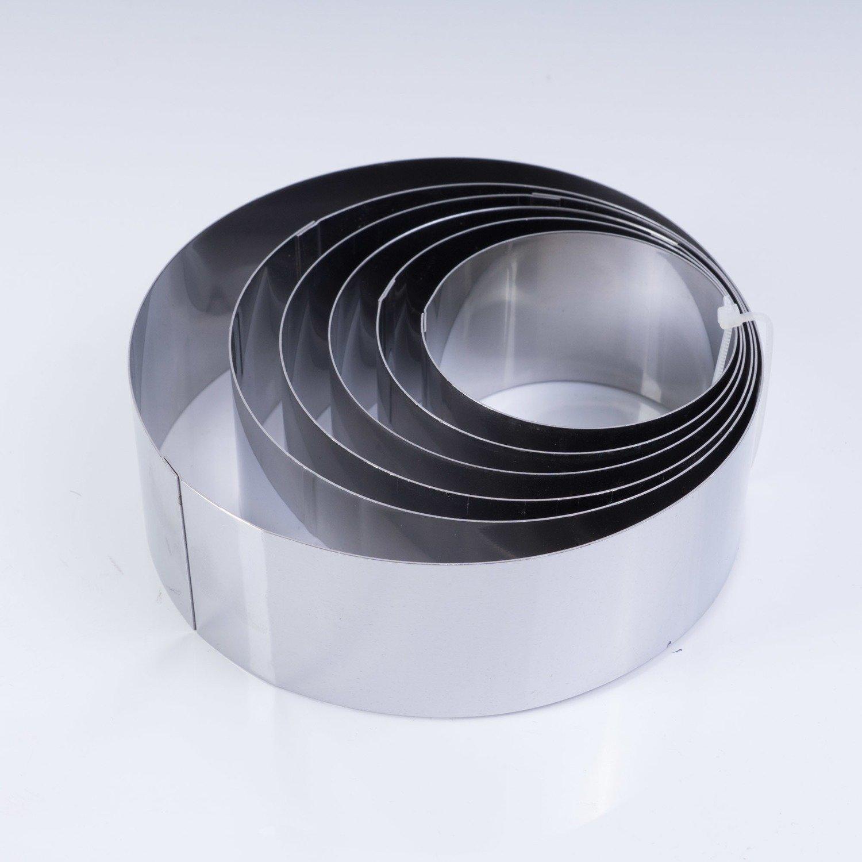 Кольца кулинарные, набор 6шт. (6,7,8,9,10,12 см)
