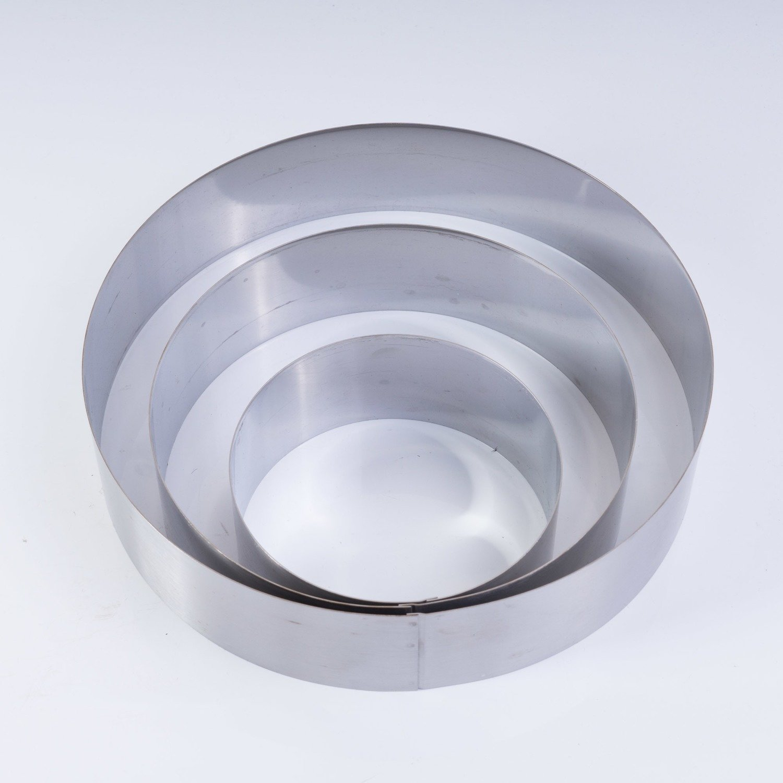 Кольца кулинарные, набор 3шт. (10, 15, 20см)
