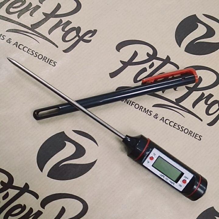 Термометр для продуктов диапазон измерений  -50 + 300C